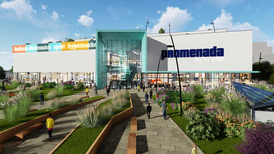 Promenada Mall Novi Sad Serbia Global Technical Group